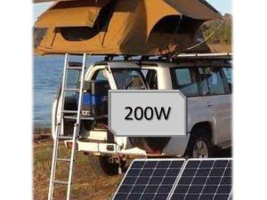 200W kit camping