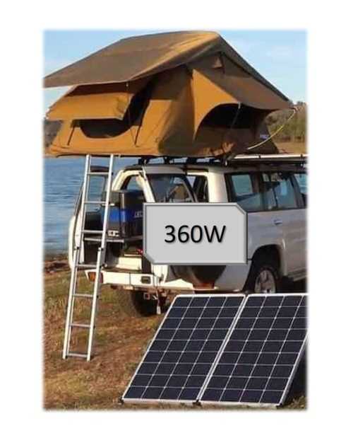360W kit camping