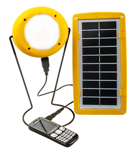 Solar Light and USB Charger